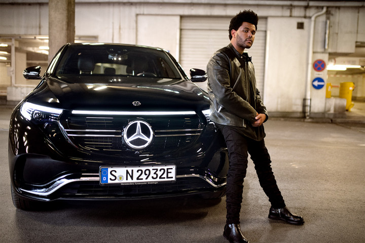 Kollaboration zweier Superstars: The Weeknd und Mercedes-Benz launchen neue Kampagne