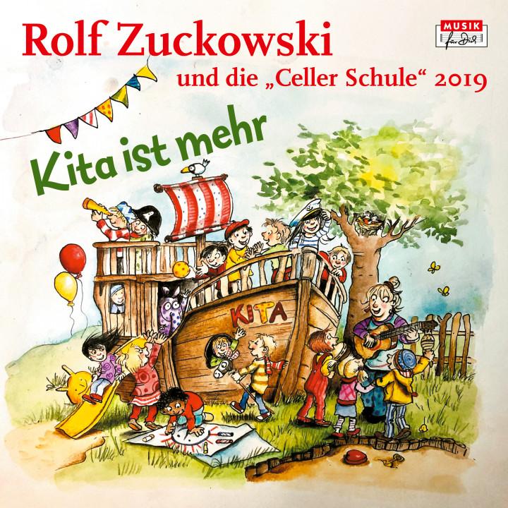 Rolf Zuckowski - Kita ist mehr_Cover