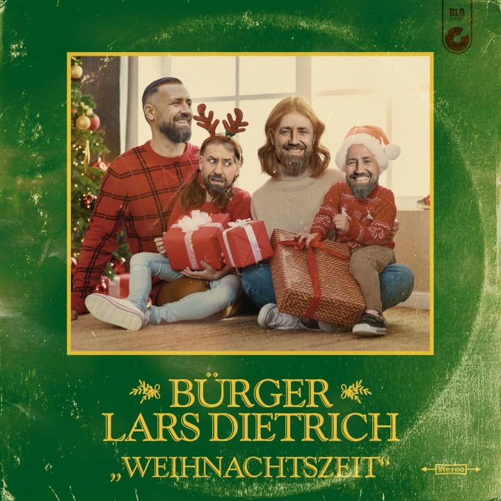 Bürger Lars Dietrich Weihnachtszeit Cover