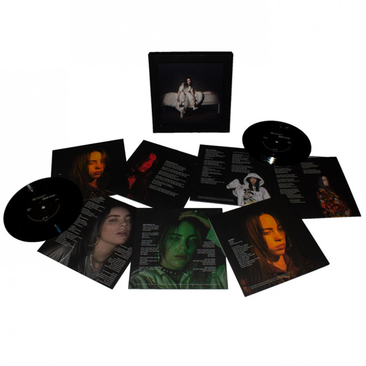 "WHEN WE ALL FALL ASLEEP WHER DO WE GO 7"" Boxset Billie Eilish"