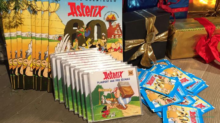 Asterix Gewinnspiel 3. Advent
