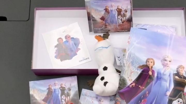 Die Eiskönigin 2 - Fan Box - Unboxing Video
