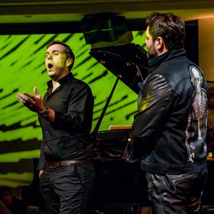 Ildar Abdrazakov und Benjamin Bernheim