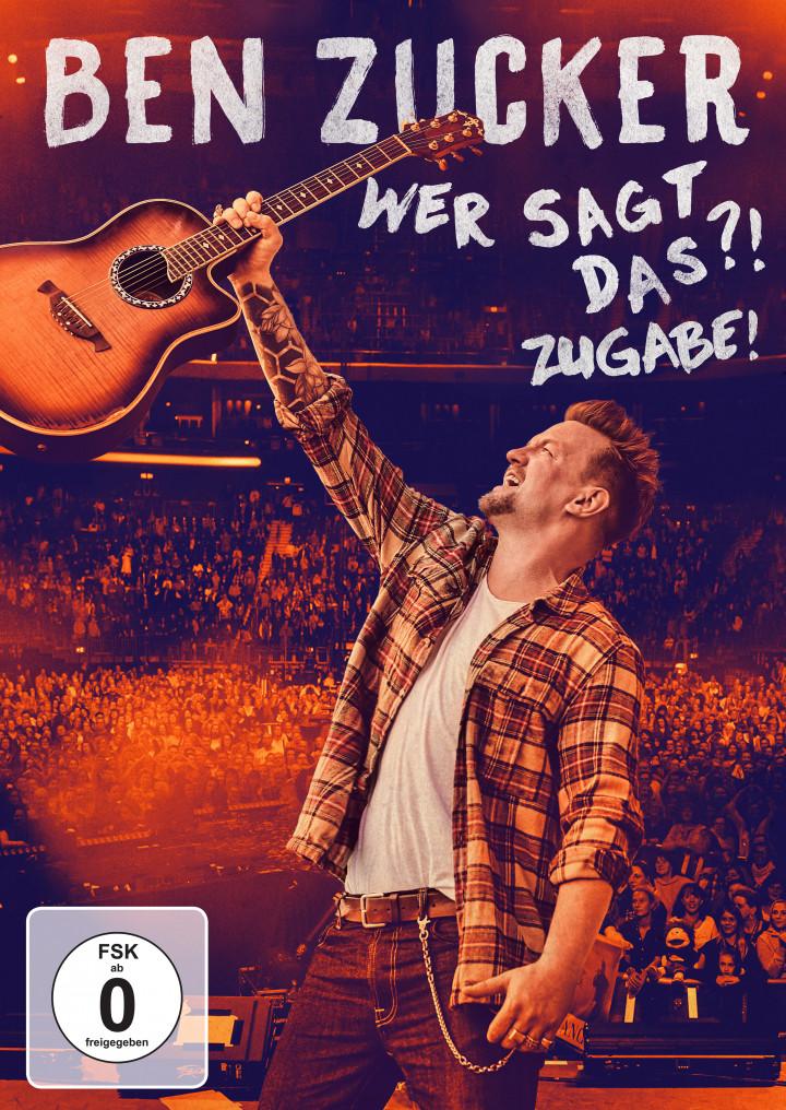 Ben Zucker Wer sagt das ?! Zugabe! DVD Cover