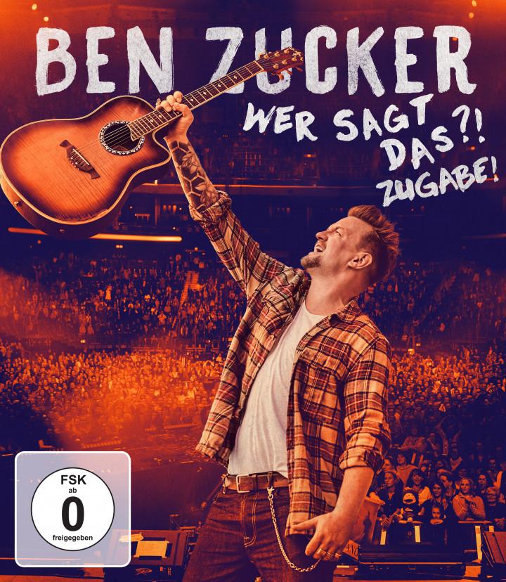 Ben Zucker Wer sagt das ?! Zugabe! Blu-Ray Cover