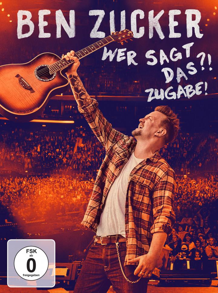 Ben Zucker Wer sagt das?! Super Deluxe Edition Cover