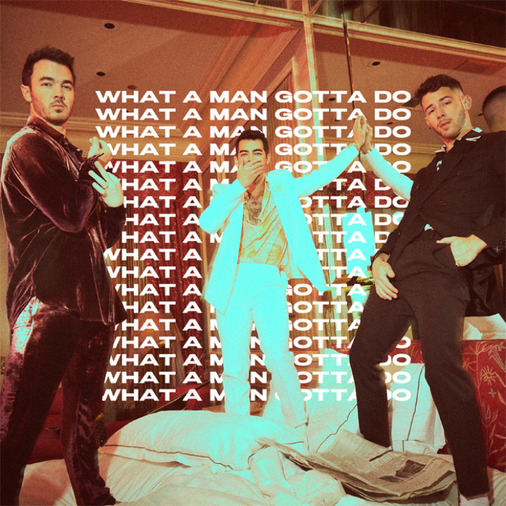 Cover: Jonas Brothers - What A Man