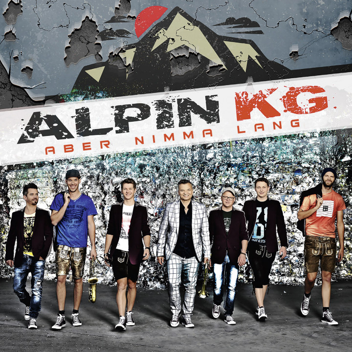 Alpin KG - Aber nimma lang - Cover