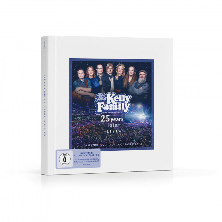 Limitiertes Fotobuch: The Kelly Family - 25 Years Later - Live - Cover