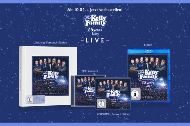 Kelly Family -25 Years Later - Live - Header