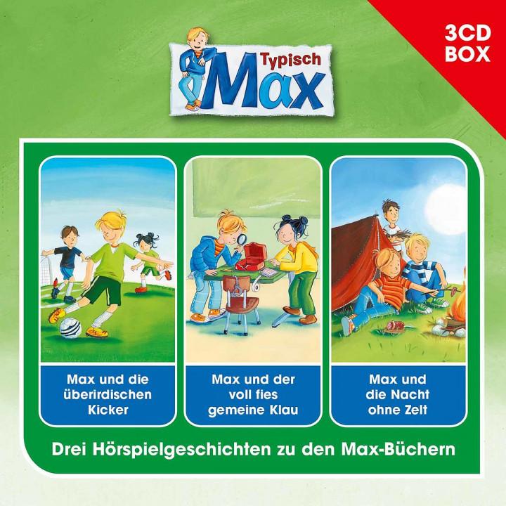 Max - 3-CD-Hörspielbox Vol. 2