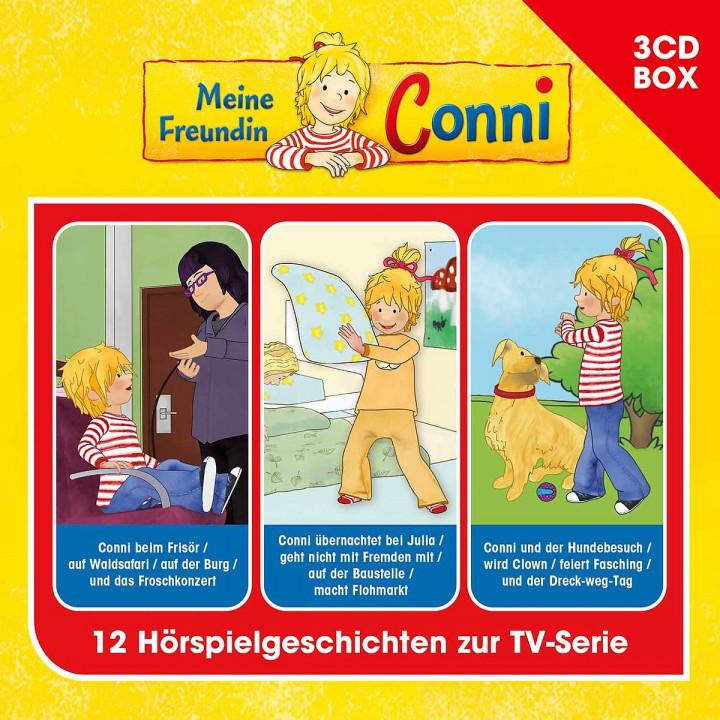 Meine Freundin Conni (TV-Hörspiel) - 3-CD-Hörspielbox Vol. 3