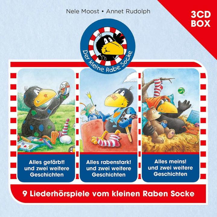 Der kleine Rabe Socke - 3-CD-Hörspielbox Vol. 2