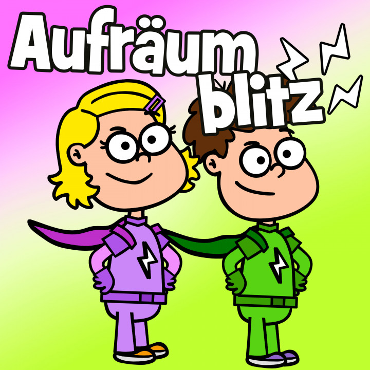 Aufräumblitz Hurra Kinderlieder COVER