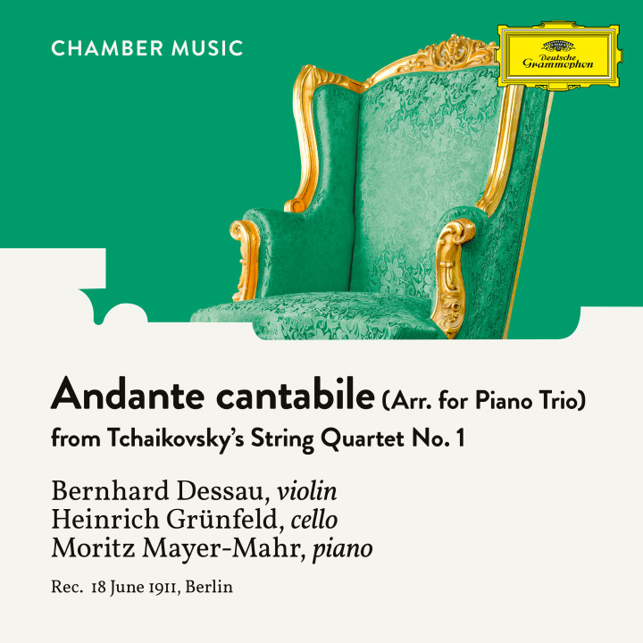 Tchaikovsky: String Quartet No. 1 in D Major, Op. 11, TH 111: 2. Andante cantabile (Arr. for Piano Trio)