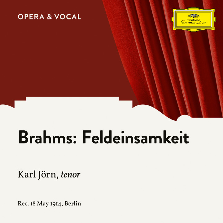 Brahms: Feldeinsamkeit, Op. 86, No. 2