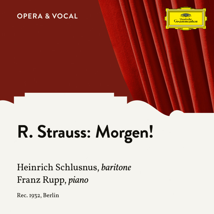R. Strauss: Morgen!, Op. 27 No. 2