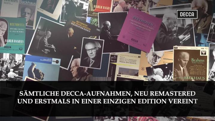 Wilhelm Backhaus - The Complete Decca Edition