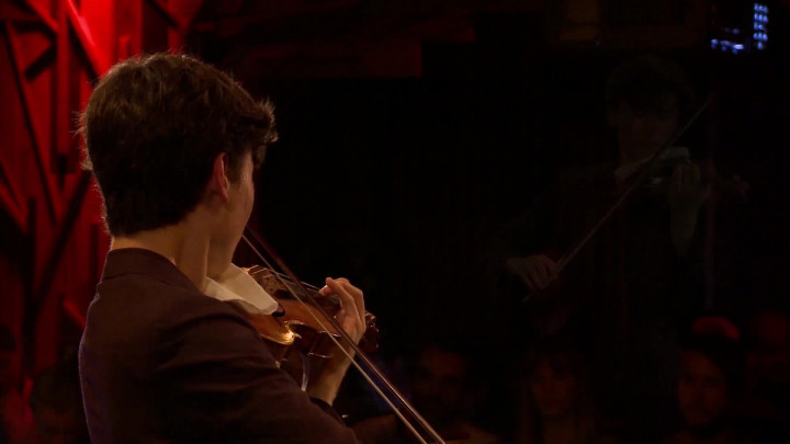 Daniel Lozakovich – Tchaikovsky: None but the Lonely Heart, Op.6, No.6 (Arr. Elman) (Live from Yellow Lounge Berlin)