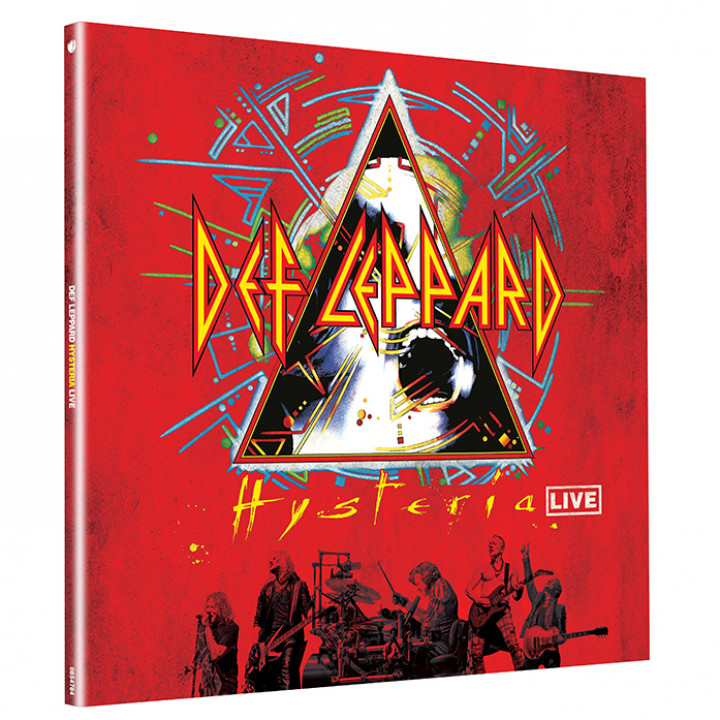 Def Leppard - Hysteria Live Vinyl