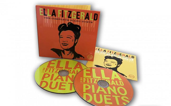 Ella Fitzgerlad - The Complete Piano Duets