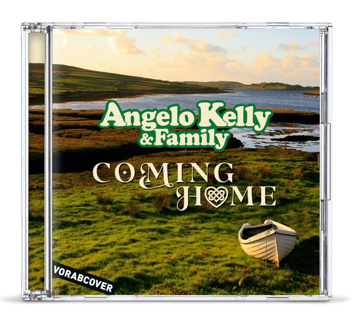 Angelo Kelly & Family Preorder CD Cover