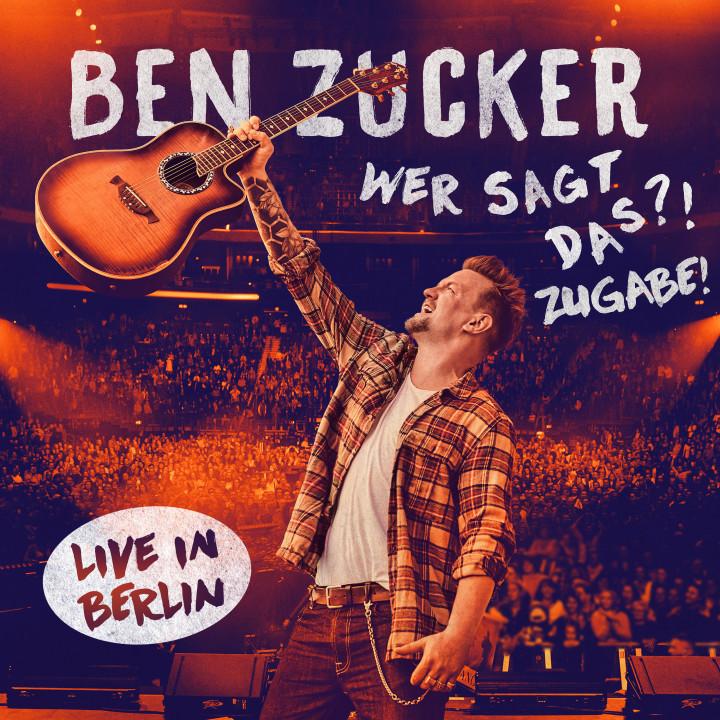 Ben Zucker eVideo Album Wer sagt das Zugabe?!  Cover