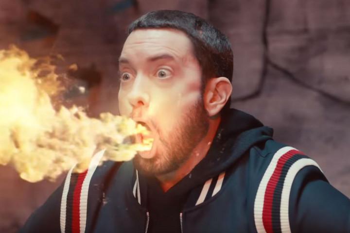 Eminem Godzilla (Screenshot)