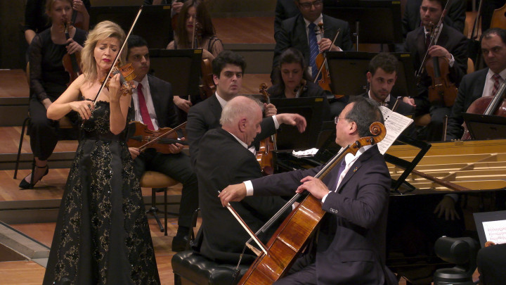 Anne-Sophie Mutter, Daniel Barenboim, Yo-Yo Ma – Beethoven: Triple Concerto in C-Dur, Op. 56 Nr. 2