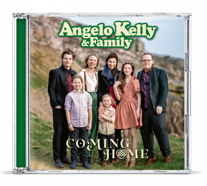 Angelo Kelly - Coming Home CD Cover - final