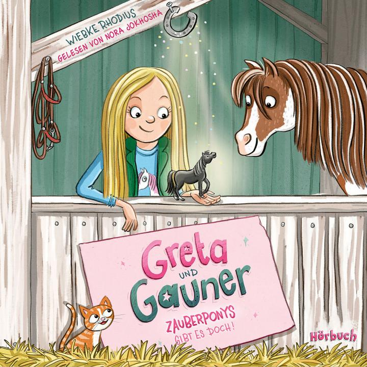 Wiebke Rhodius: Greta und Gauner (Hörbuch)