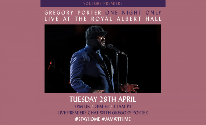 Gregory Porter - Youtube Live-Stream