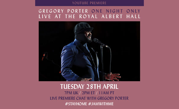 Gregory Porter, Konzerterlebnis vom heimischen Sofa - Gregory Porter lädt in die Royal Albert Hall