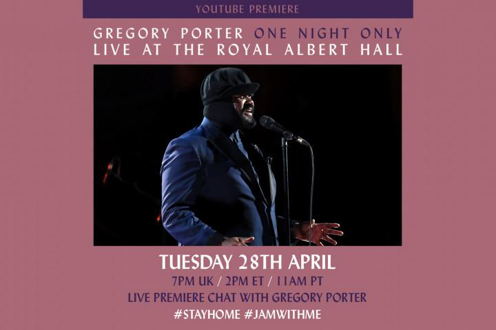 Gregory Porter - Youtube Live-Stream