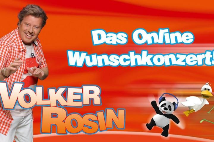 Volker Rosin Das Online Wunschkonzert