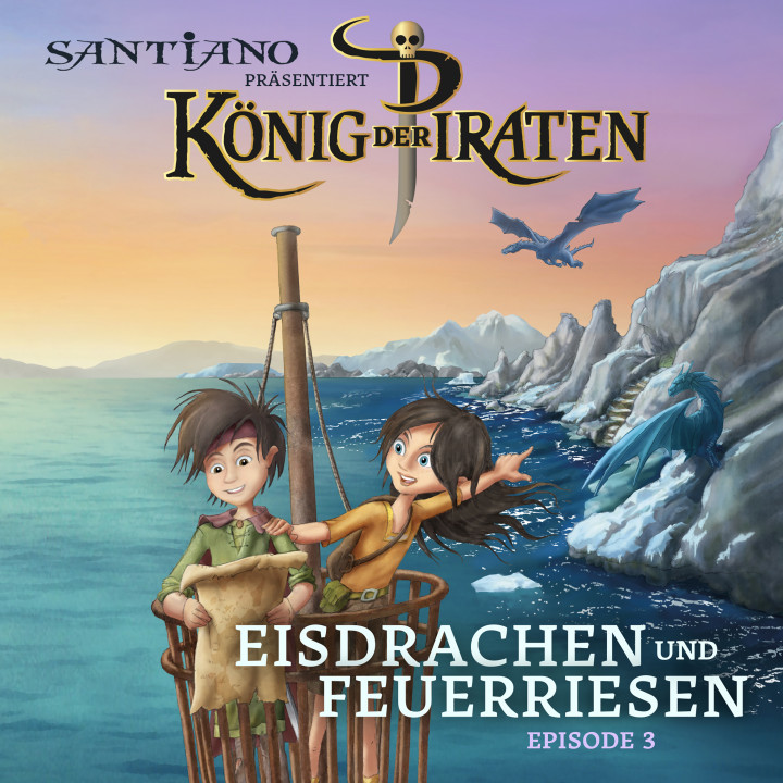 Cover König der Piraten Eisdrachen und Feuerherzen Episode 3