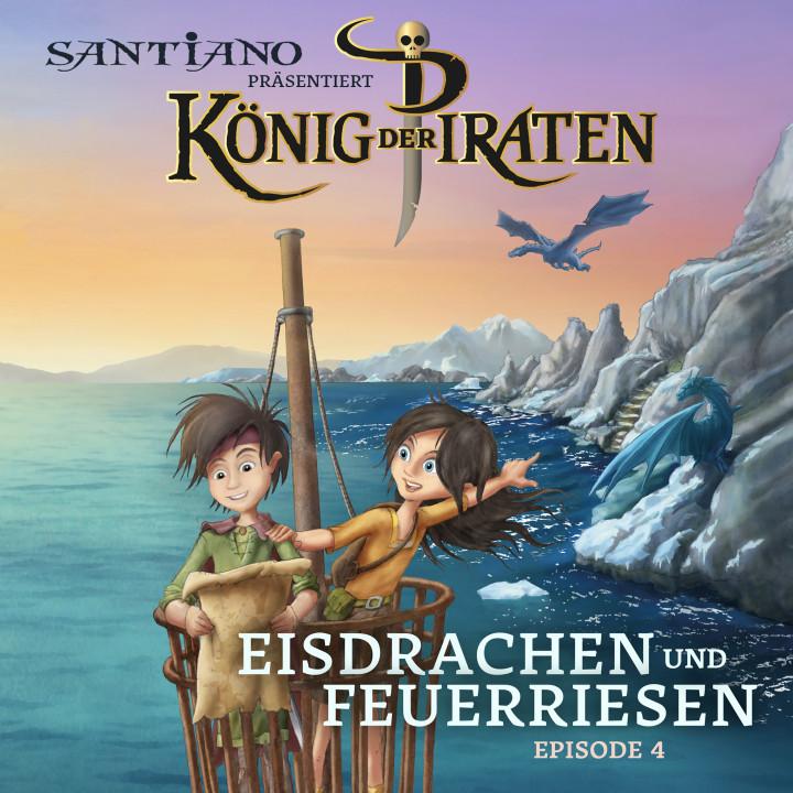 Cover König der Piraten Eisdrachen und Feuerherzen Episode 4