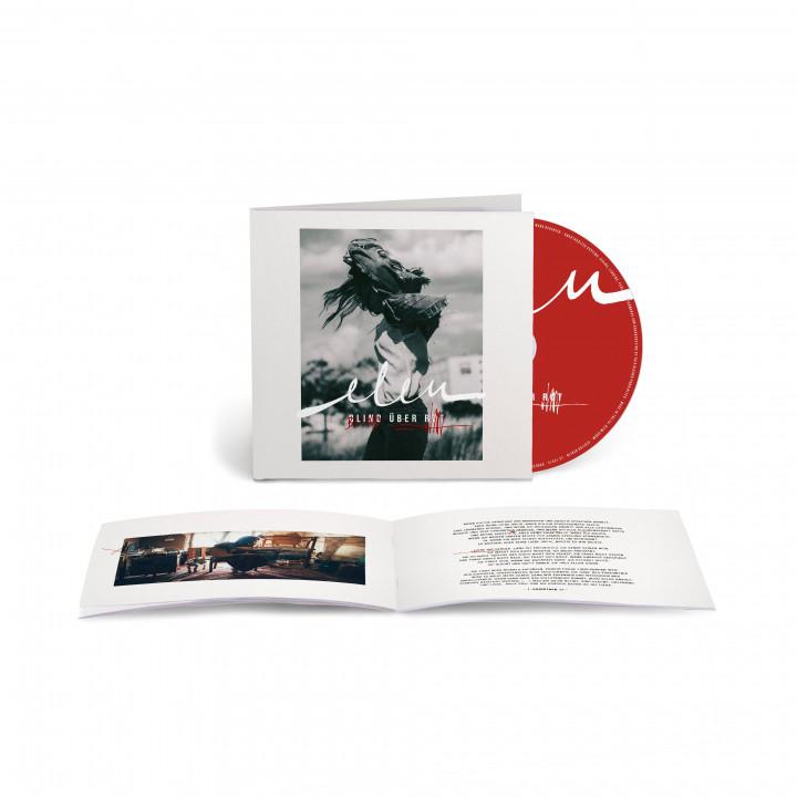 Packshot CD Blind über Rot