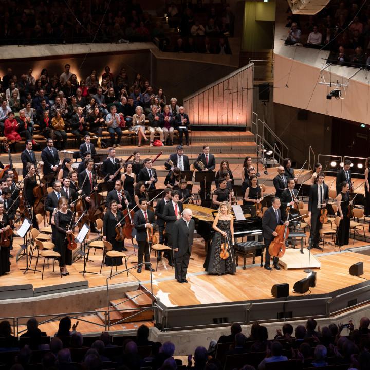 Daniel Barenboim, Anne-Sophie Mutter, Yo-Yo Ma, West-Eastern Divan Orchestra