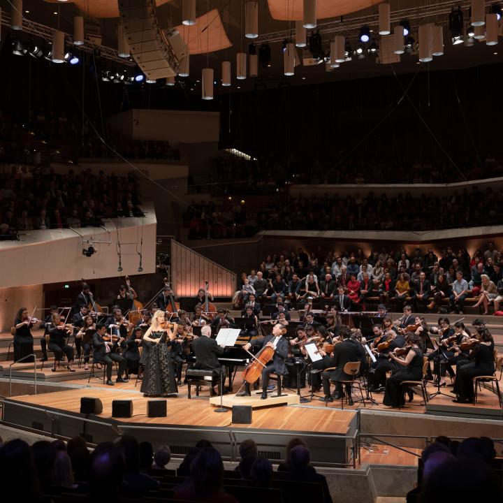 Anne-Sophie Mutter, Daniel Barenboim, Yo-Yo Ma, West-Eastern Divan Orchestra
