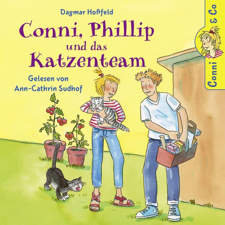D. Hoßfeld: Conni, Phillip und das Katzenteam