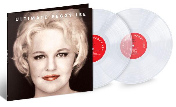 Peggy Lee, Clear Vinyl - limitierte LP zum Peggy-Lee-Jubiläum angekündigt