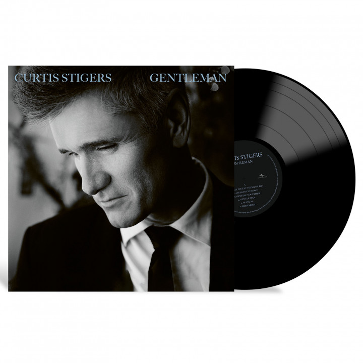 Curtis Stigers - Gentleman (LP Packshot)