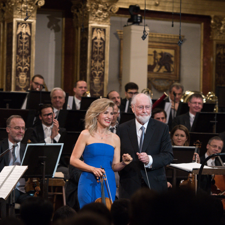 Anne-Sophie Mutter, John Williams, Wiener Philharmoniker
