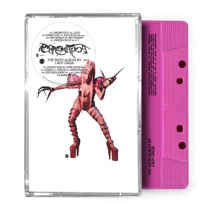 Chromatica Cassette Pink