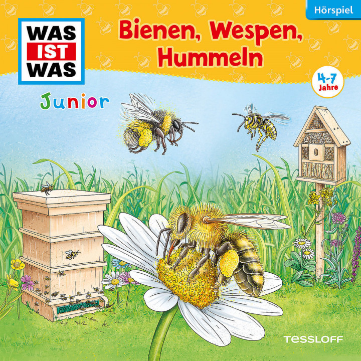 Was ist Was Junior 30: Bienen, Wespen, Hummeln