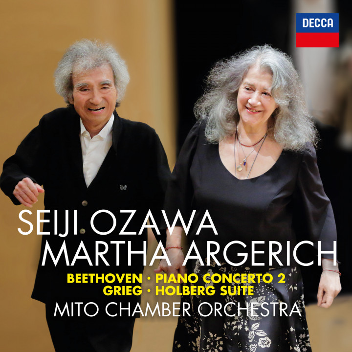 Martha Argerich & Seiji Ozawa - Beethoven Piano Concerto No 2
