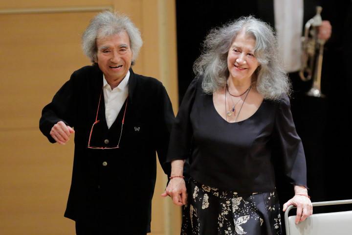 Martha Argerich & Seiji Ozawa
