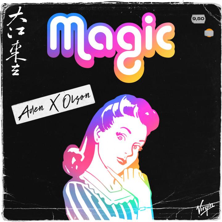 ADEN X OLSON - Magic Cover