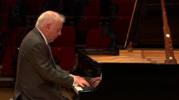 Daniel Barenboim – Chopin: Étude Op. 25 Nr. 1 in As-Dur (Live aus dem Pierre Boulez Saal, 2020)